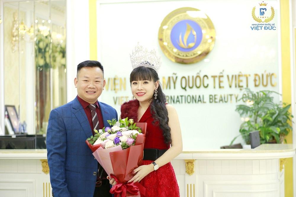 Hoa hậu Đại dương Doanh Nhân Quốc tế Phạm Bích Thủy  Bọc răng sứ - Làm mới nụ cười, bước tới thành công