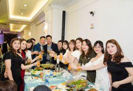 Công ty Cổ phần Y dược Quốc tế Việt Đức rộn ràng Tiệc tất niên