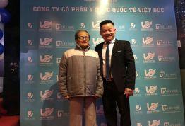 Ts.Bs Mậu xúc động tri ân Người Thầy quá cố của mình Ts.Bs CKI Lê Văn Thạch - Nguyên Chủ nhiệm khoa RHM Bệnh viện 108