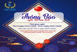 Nha khoa Quốc tế Việt Đức chúc tết xuân Canh Tý 2020