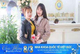 Nha khoa Quốc tế Việt Đức hòa chung không khí ngày 8/3