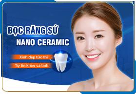 Bọc răng sứ Nano Ceramic
