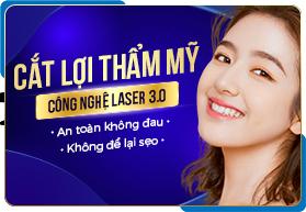 Cắt lợi thẩm mỹ công nghệ Laser 3.0